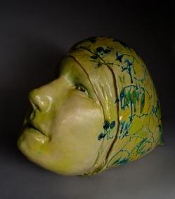 """""""Peter"""" Stoneware, Glaze, 1.5' x 1' x 1.5'"""