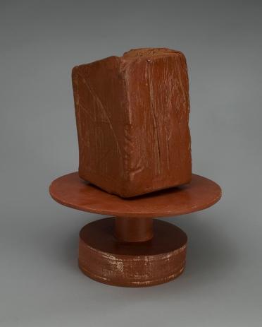 """Terra Cotta, Stoneware, Terra Sigillata 14"""" x 8"""" x 8"""" 2015"""